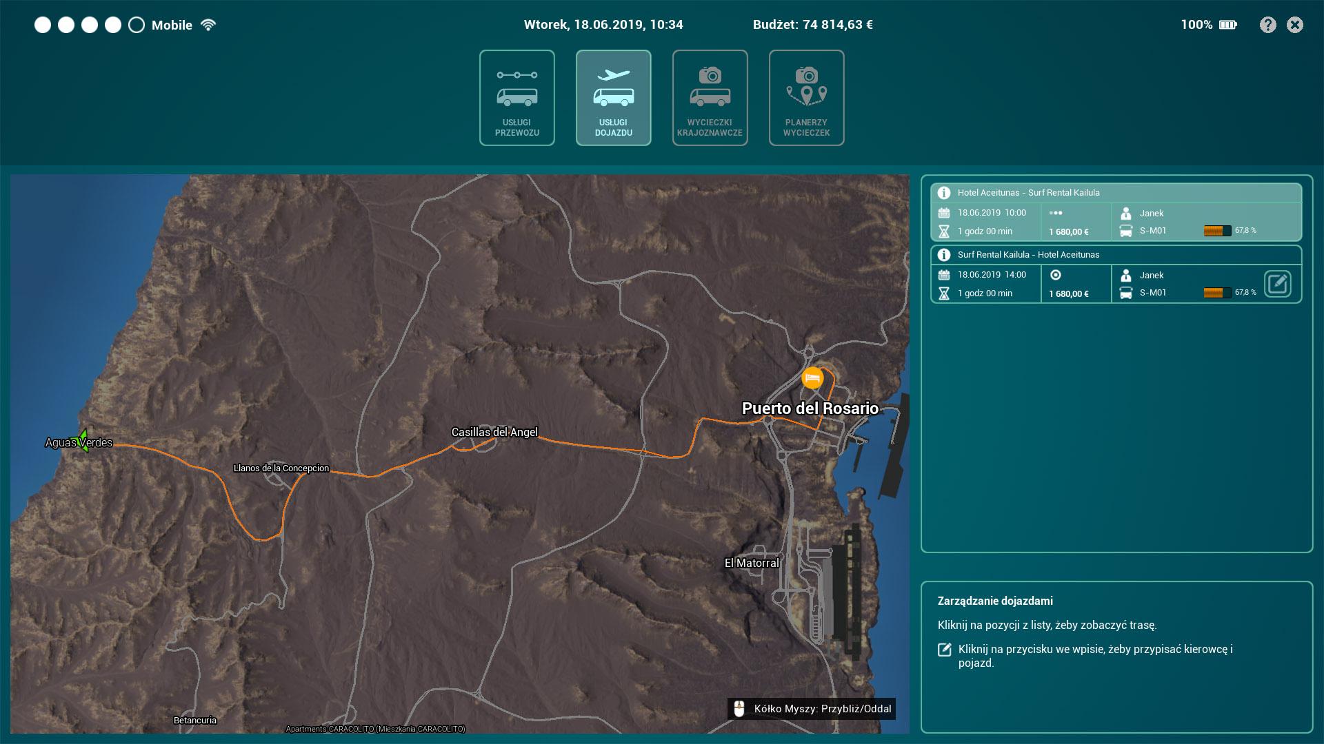 Tourist Bus Simulator Map