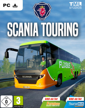 Fernbus Simulator Scania Touring