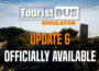 Tourist Bus Simulator: Update 6 officially available