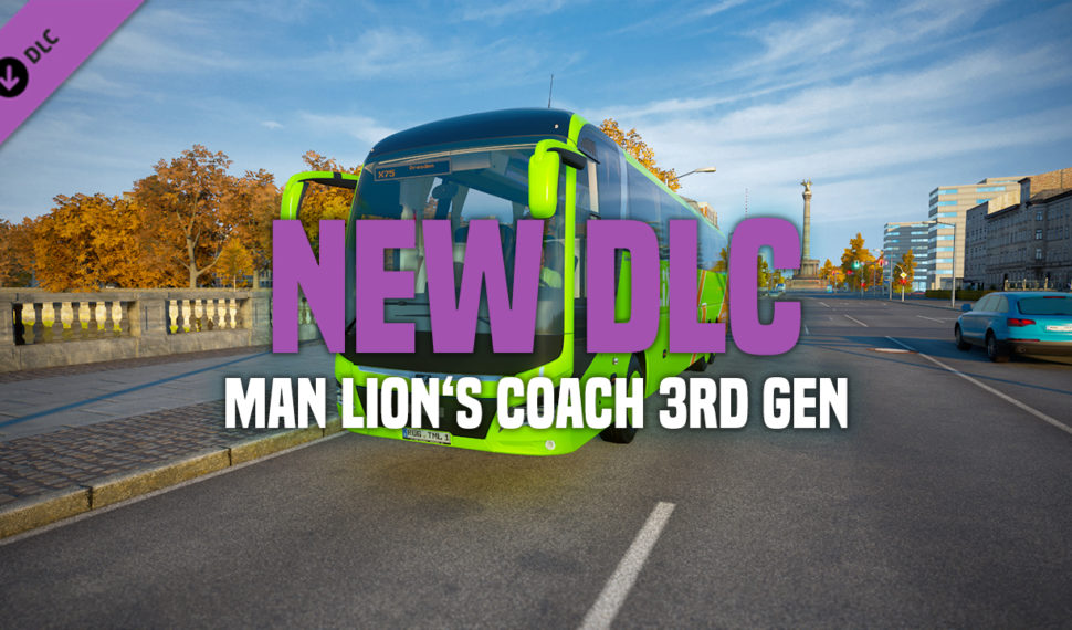 DLC MAN LION'S COACH 3rd Generation