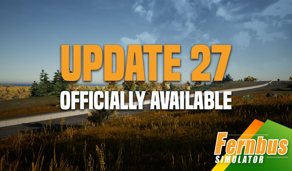 Update 27 for Fernbus Simulator